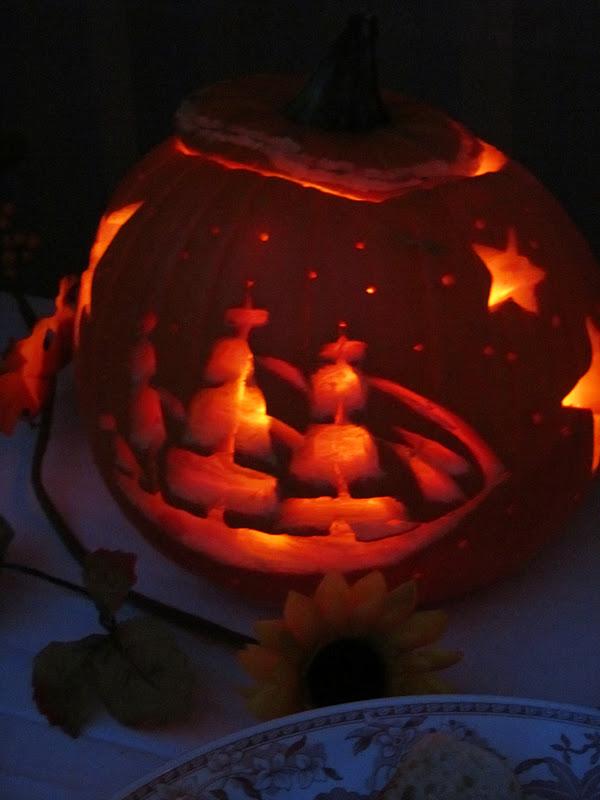 Pointless Paradise Nautical Pumpkin Carving