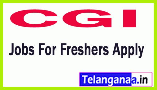 CGI Recruitment Jobs For Freshers Apply