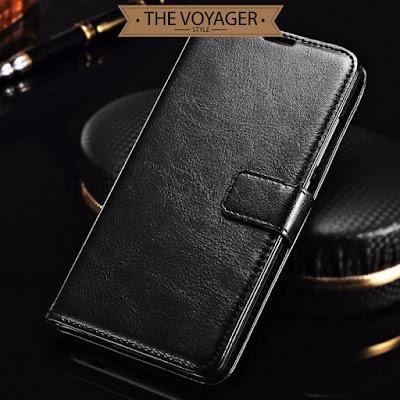 dompet casing hp kulit Leather flip case cover Samsung Galaxy S7 Edge luxury premium original