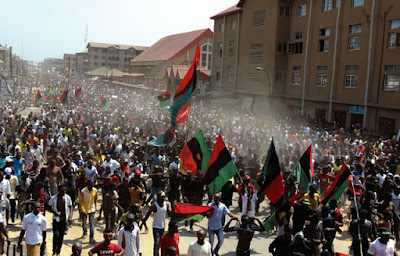MASSOB, IPOB set to clash over Anambra polls, as 3m storm Onitsha