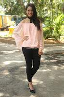 Rakul Preet Singh in lovely Pink Crop Top and Black Trousers at Jaya Janaki Nayaka success meet 076.JPG