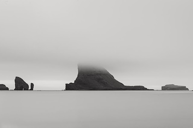 Tindholmur in the Faroe Islands