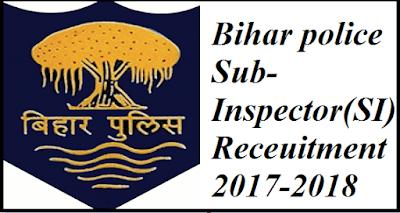 Bihar police SI Requirtment