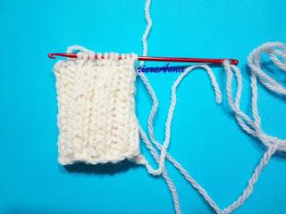 lavorare a maglia con uncinetto