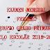"""EXAMEN MENSUAL """"FEBRERO"""" 4° PRIMARIA CICLO ESCOLAR 2018-2019."""