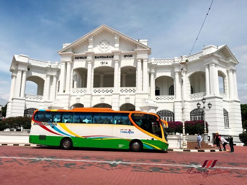 malaysia tourism perak dewan bandaran ipoh town hall