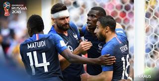 Prancis vs Australia 2-1 Video Gol Highlights - Piala Dunia 2018