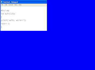 NOTEPAD SCREENSHOT