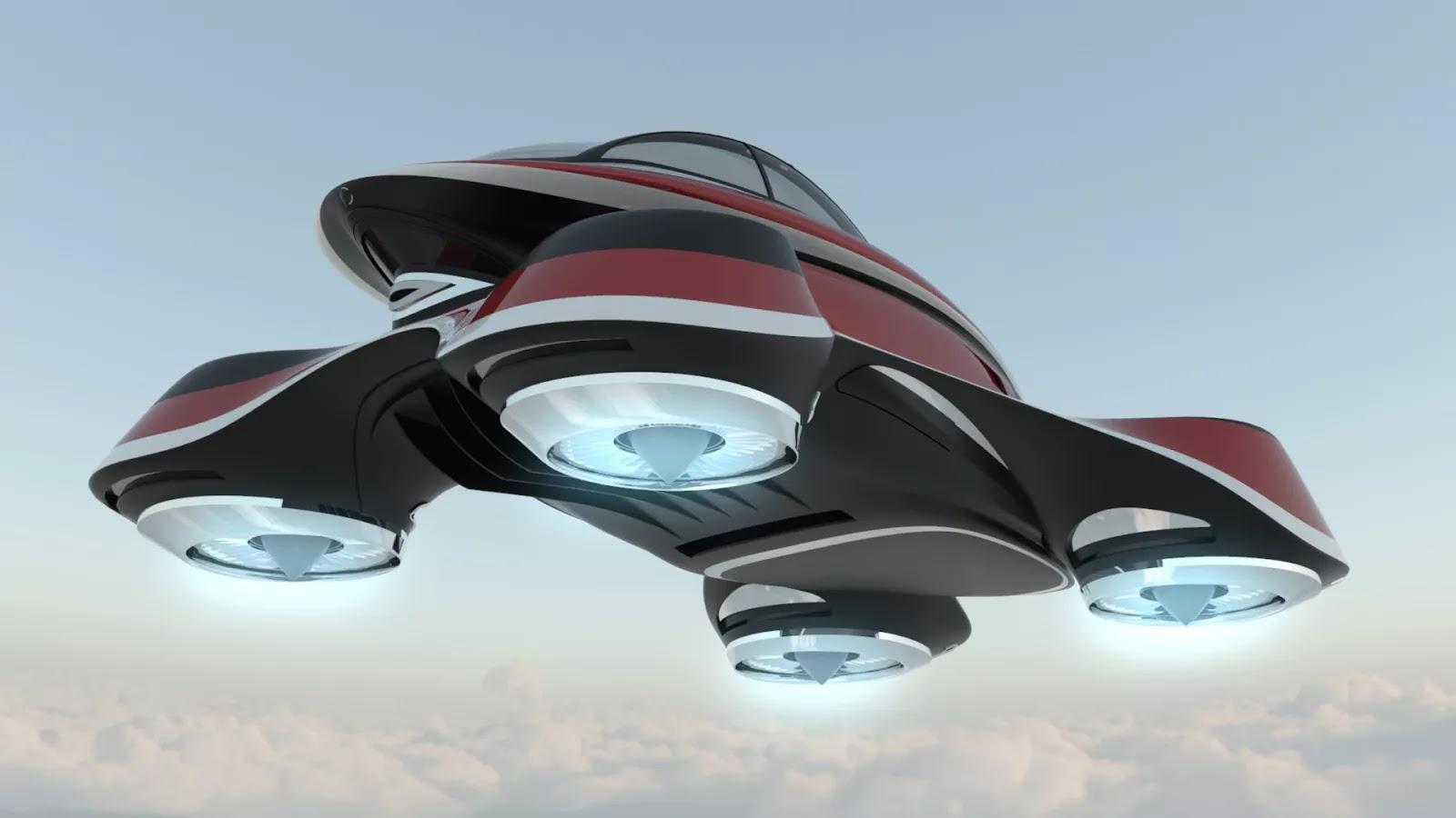 Lexus Flying Car >> Lazzarini Design Imagines An Isotta Retro Flying Car   Carscoops