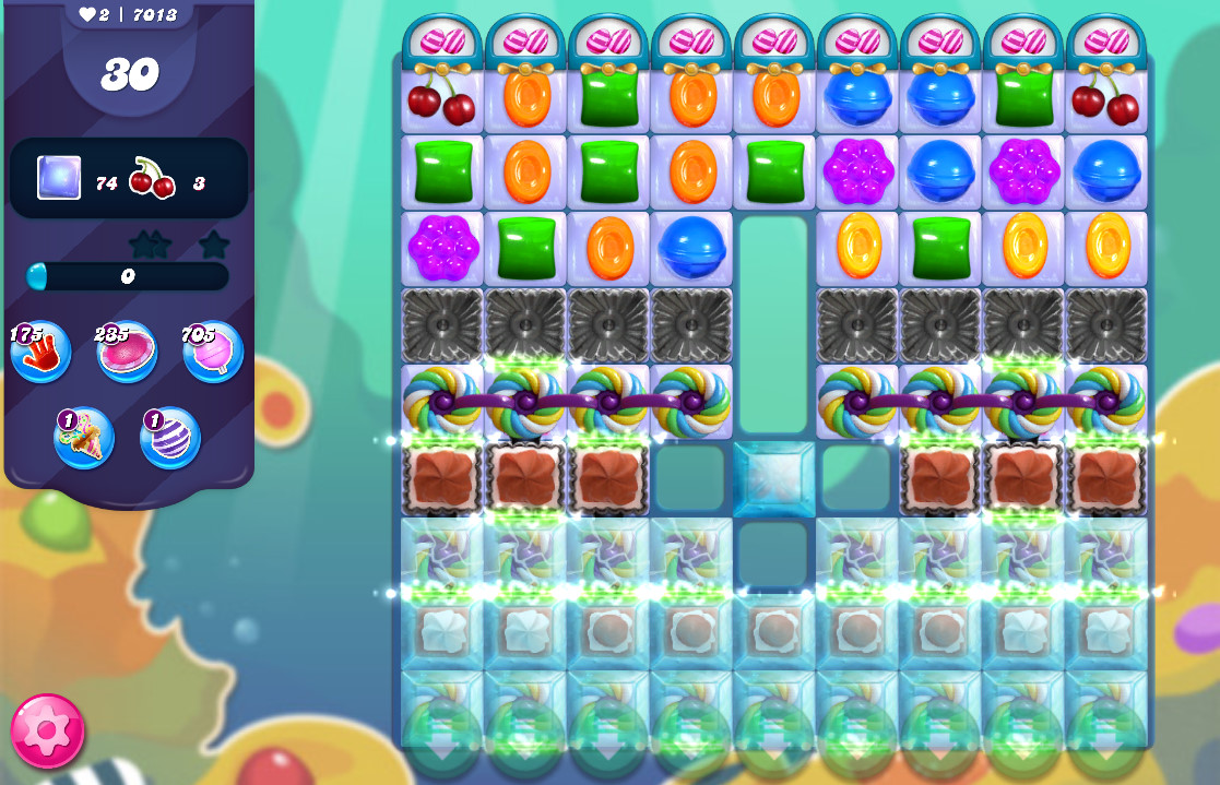 Candy Crush Saga level 7013