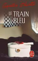 Couverture du livre Le Train bleu d'Agatha Christie