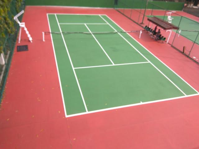 Harga Pengecatan Lapangan Tenis Murah, Jasa Cat Lapangan Tenis Outdoor Jabodetabek & Bandung