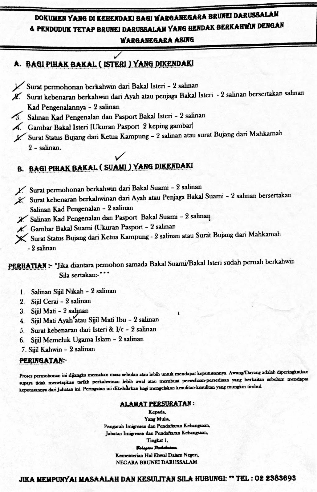 Foreigner Marrying A Local Bruneian A Step By Step Guide