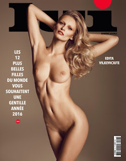 Edita Vilkeviciute Lui Magazine
