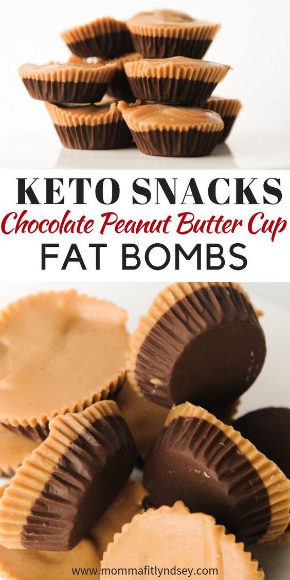 Keto Chocolate Peanut Fat Bomb