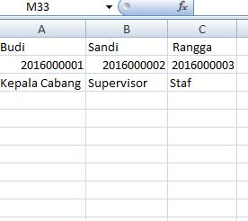Combobox Dropdownlist di Excel