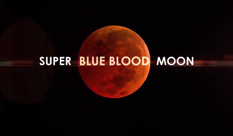 'Super blue blood moon' Philippines January 31, 2018