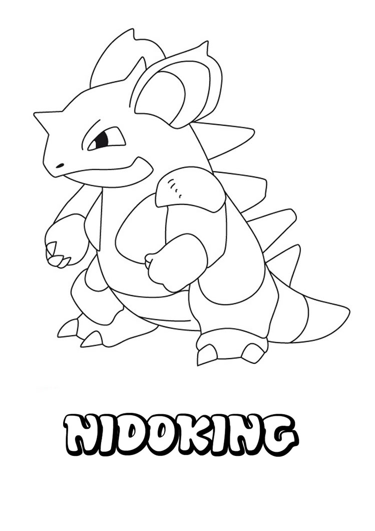 pokemon characters coloring pages - pokemon go