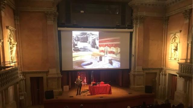 Πρώτη παγκόσμια παρουσίαση: Ο «Θρόνος του Αγαμέμνονα» από την Αργολίδα στη Βενετία