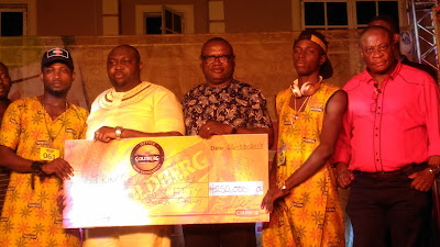 Goldberg Excellency Tour: DJ Kingsley, Nathaniel Emerge Winner of DJ and Free Styling Competition in Benin City