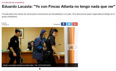 Eduardo la casta: 'Yo con Fincas Atlanta no tengo nada que ver'