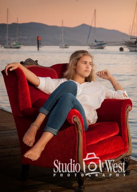 sail boat senior pictures - beach portraits - senior portrait - atascadero - studio 101 west photography