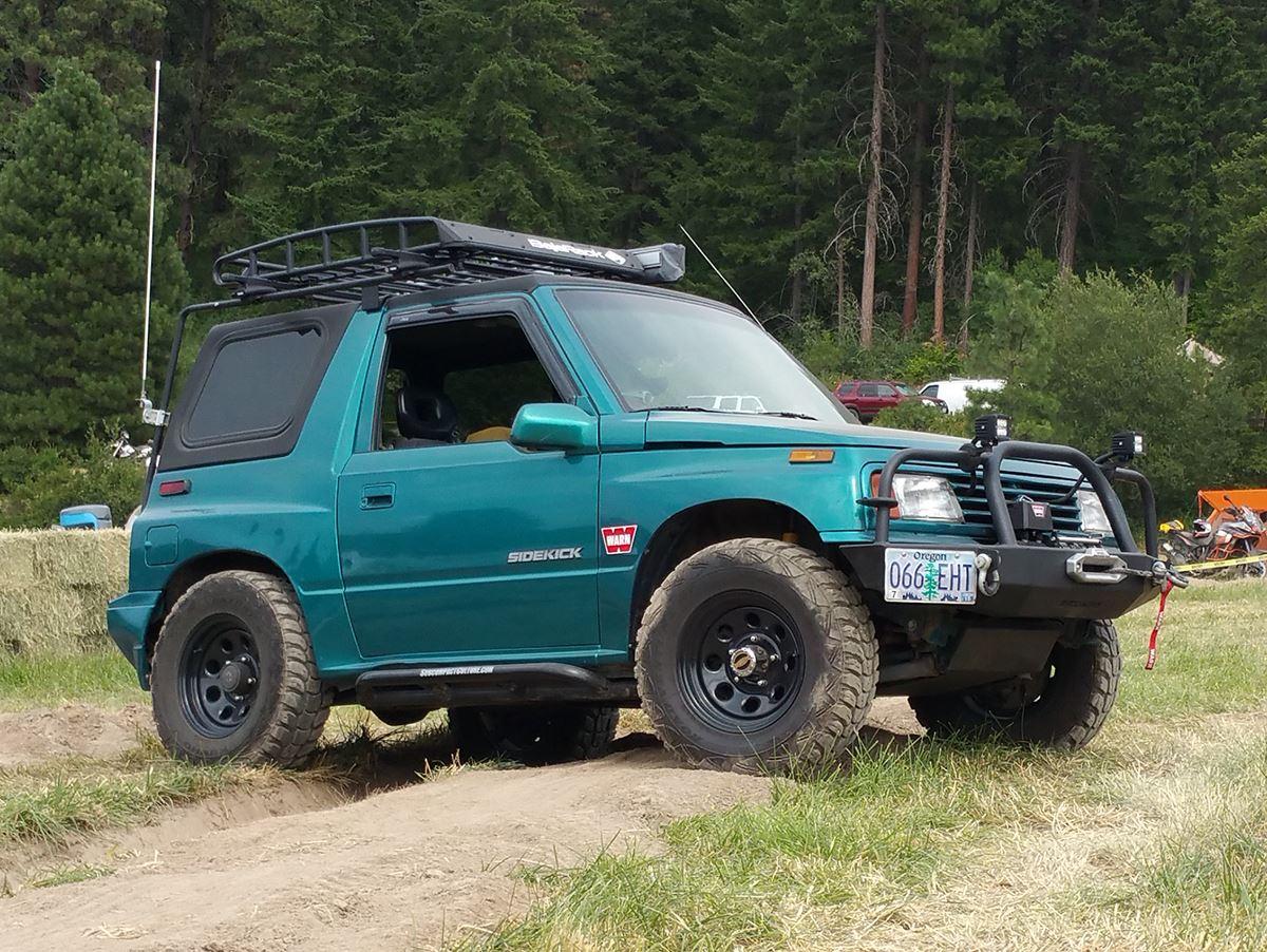 116 best tracker/sidekick images on pinterest | 4x4, jeep and samurai