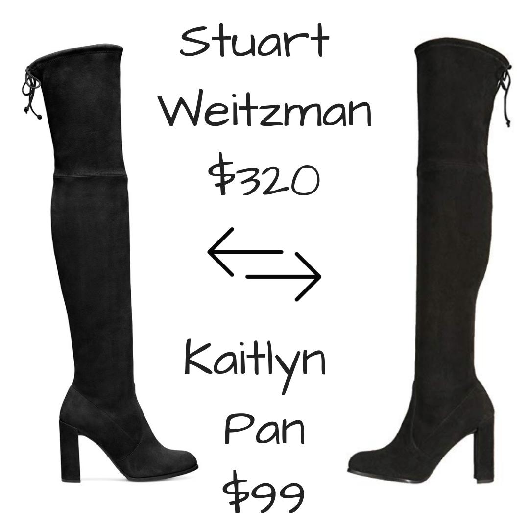 e43824bbe1b The Look for Less  Stuart Weitzman Hiline Boot - Frugal Shopaholics ...