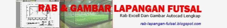 rab dan gambar lapangan futsal