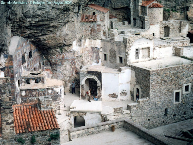 Monastery of Our Lady of Soumela Trebizond (Trabzon, Modern day Turkey)