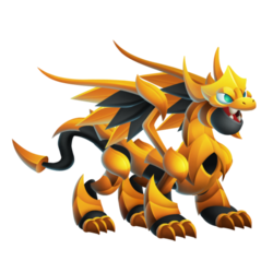 Pure Gold Dragon (Teen)