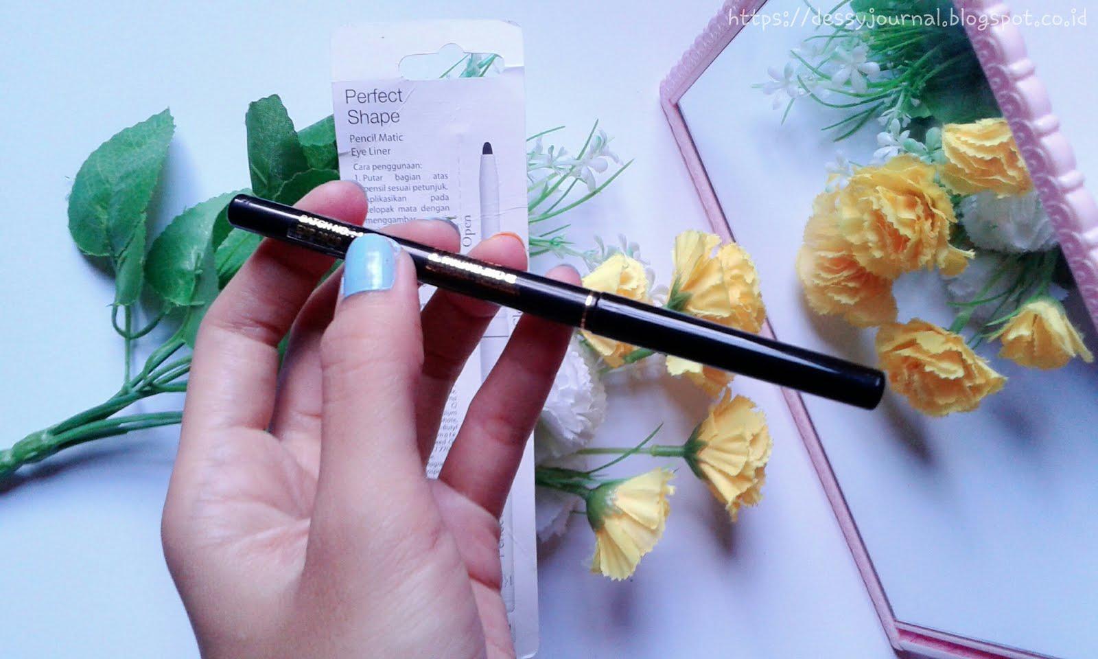 Viva Cosmetics Eyeliner Matic Biru 035 G Daftar Harga Terlengkap Queen Perfect Shape Pencil Eye Liner Ml Hitam Nya Sendiri Berbentul Pensil Yang Beraksen Kuning Emas Di Batang Ini