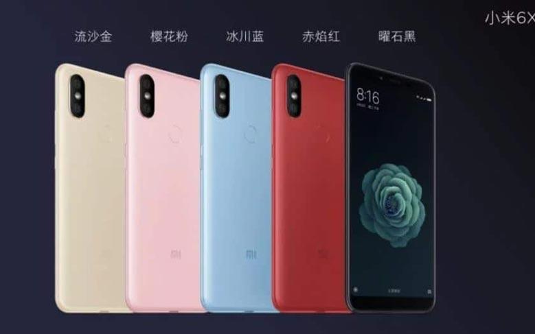 هاتف Xiaomi Mi 6X