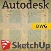 SketchUp-AutoCAD-import
