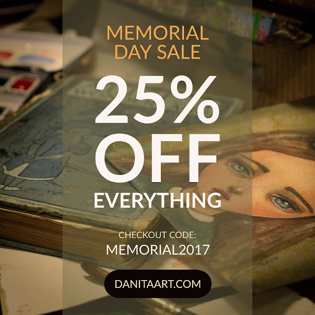 Memorial Weekend sale. ALL THE STORE IS 25% OFF! Before the day ends: Happy Birthday, Frida Kahlo!!!!