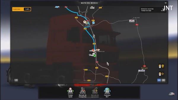 Euro Truck Simulator 2 v1.34 Google Navigasyon Modu