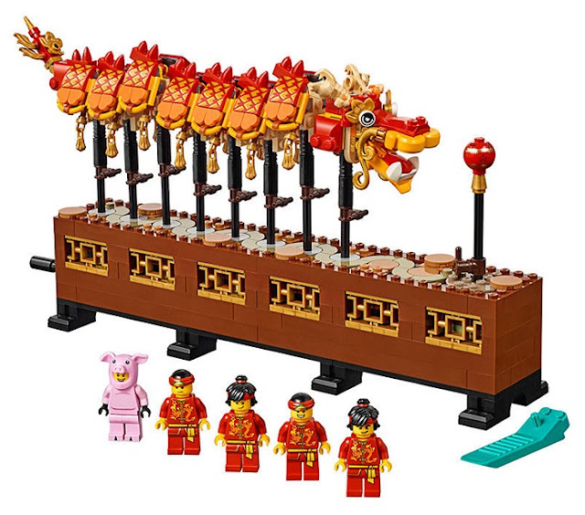 Dragon Dance LEGO Sets Chasing The Pearl