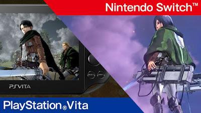 Attack on Titan 2 presenta nuevos tráileres Para sus versiones portátiles