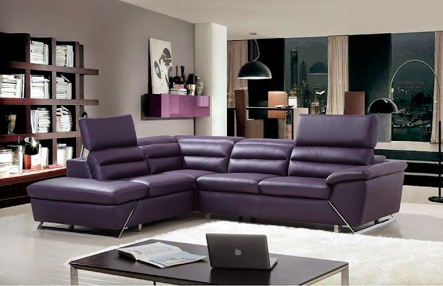 durable leather corner sofa  for living room
