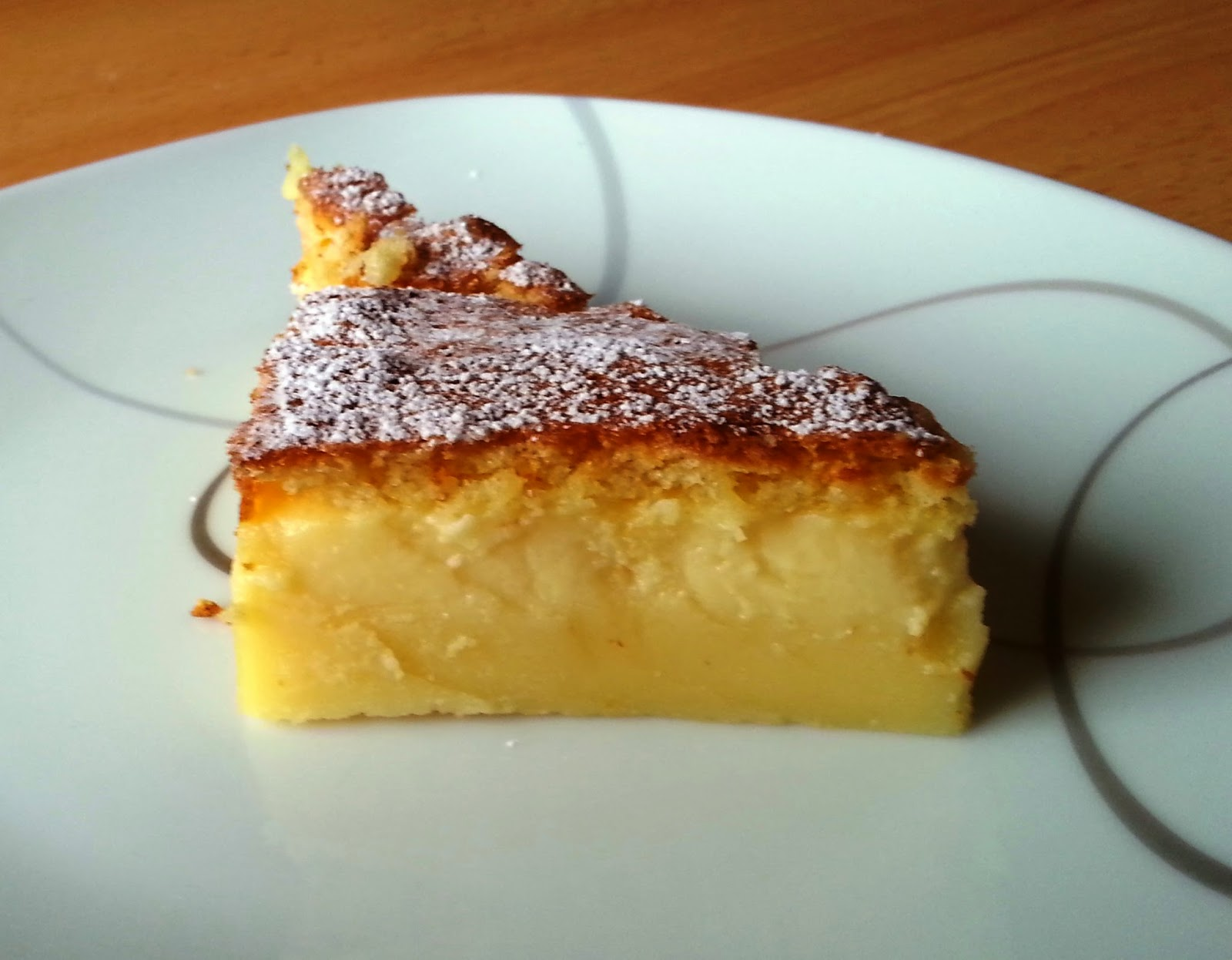 Sanna S Hexenkuche Magic Cake Puddingkuchen