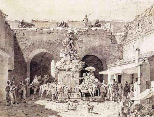 Η Πύλη της Ξηράς στο Ναύπλιο