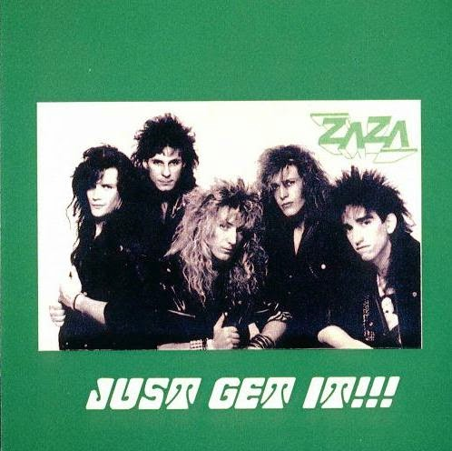 Zaza Just get it 1989 aor melodic hard rock