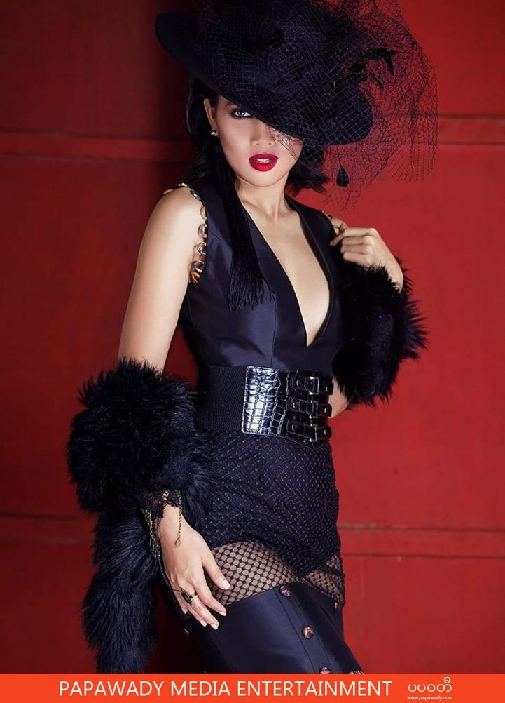 Aye Myat Thu Moda Fashion Magazine Photoshoot
