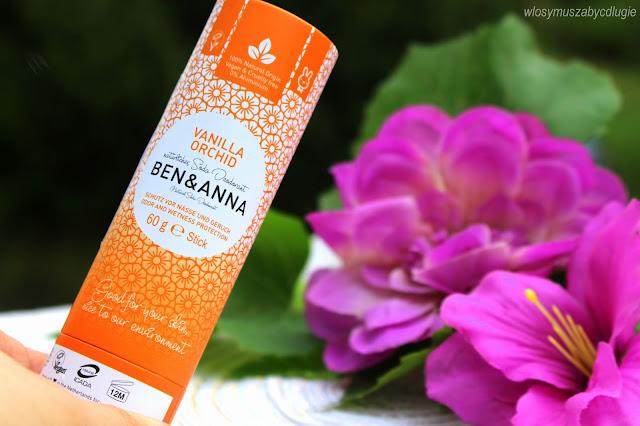 Ben & Anna – Vannilla Orchid – Naturalny dezodorant na bazie sody