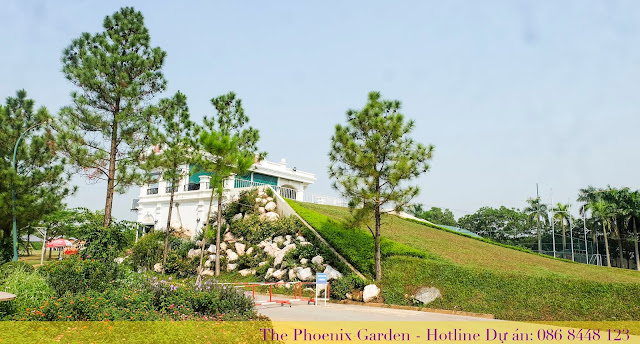 đồi trượt cỏ dự án the phoenix garden