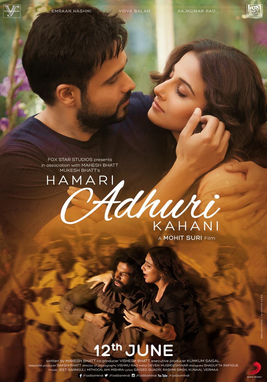Hamari Adhuri Kahani (2015) Hindi 720p WEBRip 1.2GB ESubs Free Download