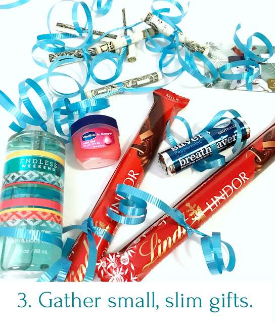 Fill up a water bottle with gifts @michellepaigeblogs.com