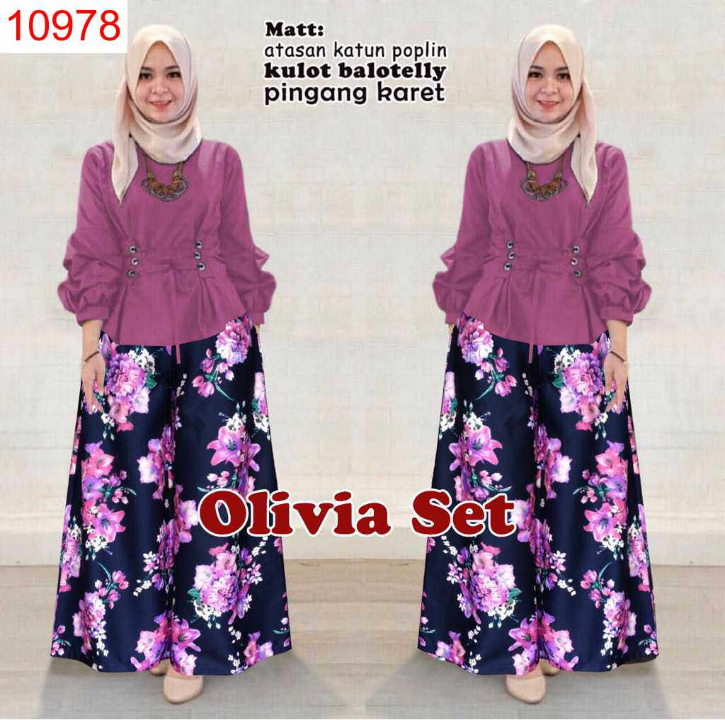 SET OLIVIA VERS 7 DELIMA DUSTY - 10978