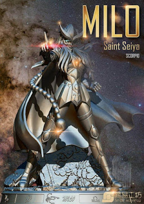 Saint Seiya Scorpio Milo Simple Workshop