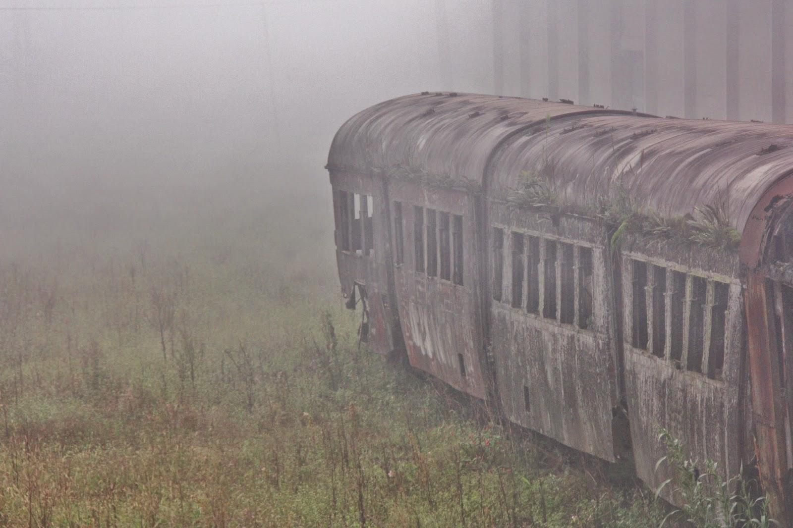 Neblina em Paranapiacaba.